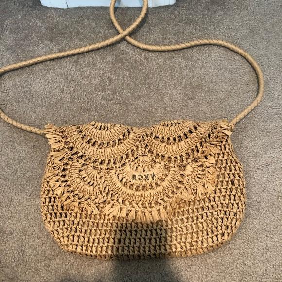 Roxy Handbags - Roxy Straw crossbody